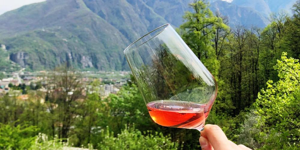 Degustazione sul Monte in Rosa
